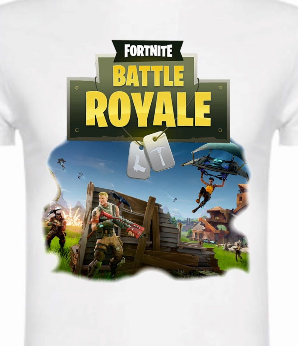 Camiseta Infantil Fortnite Battle Royale
