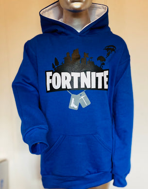 Sudadera Fortnite Chapas Adulto