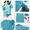 7 Piece Silk Pajamas Set