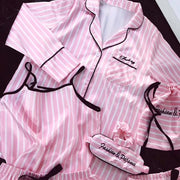 7 pieces Silk Pajamas set - LINQ LA