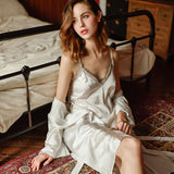 Silk Wedding Sleepwear Lingerie - LINQ LA