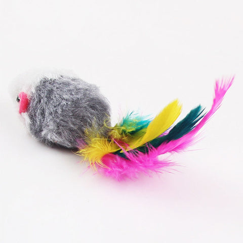 10Pcs/lot Soft Fleece False Mouse