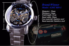 Blue Ocean Designer Stainless Steel Watch