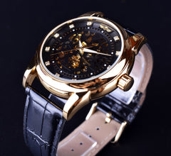 Casual golden Watch