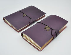 Vintage Genuine Leather Diary - THE FASHION COCKTAIL