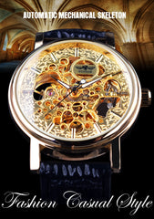 Classic Transparent Mechanical Watch
