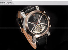 Classic Tourbillon Wrap Mens Watch