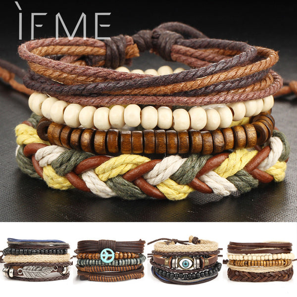 Multilayer Leather Bracelet - THE FASHION COCKTAIL