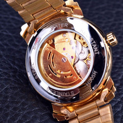 Classic Transparent Mens Watch