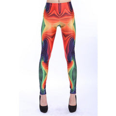 3-D Printed Fluorescent leggings - THE FASHION COCKTAIL