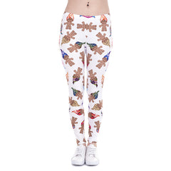Unicorn And Sweets Print leggins - THE FASHION COCKTAIL