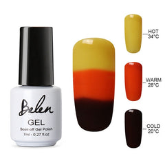 Belen 3 in 1 Color Changing Nail Polish - THE FASHION COCKTAIL