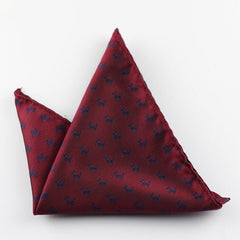 Silk Pocket Squares - THE FASHION COCKTAIL