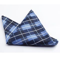 Plaid Woven Pocket Square's - THE FASHION COCKTAIL