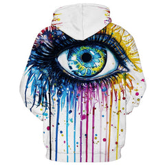 3D Eye Hoodie - THE FASHION COCKTAIL
