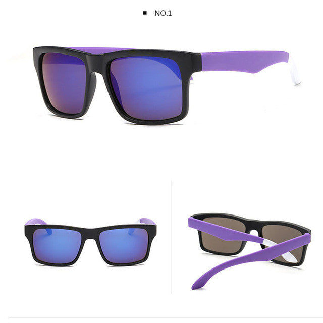 Mirrored Unisex Wayfarers - THE FASHION COCKTAIL