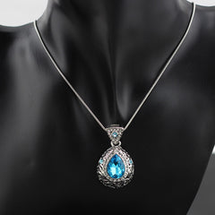 Tear Design crystal Pendant - THE FASHION COCKTAIL