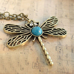 Dragonfly Pendant - THE FASHION COCKTAIL