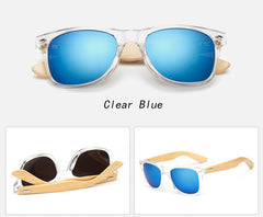 Wooden Unisex Sunglasses - THE FASHION COCKTAIL