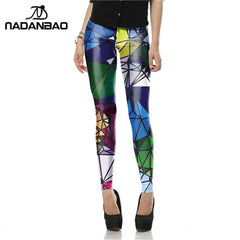 Printed Leggings - THE FASHION COCKTAIL