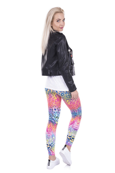 Wild Dots Printed leggins