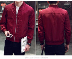 Trendy Bomber Jacket - THE FASHION COCKTAIL