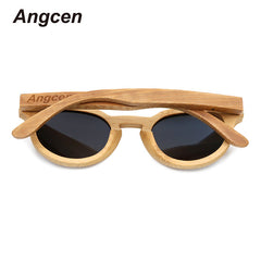 Designer Wooden Women's Polarized Sunglasses - THE FASHION COCKTAIL