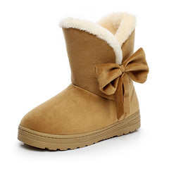 Classic Suede Snow Boots - THE FASHION COCKTAIL