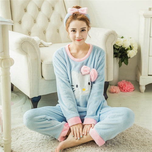 Blue Cat Pajamas - THE FASHION COCKTAIL