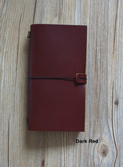 100% Genuine Leather Traveler's Diary-THE FASHION COCKTAIL