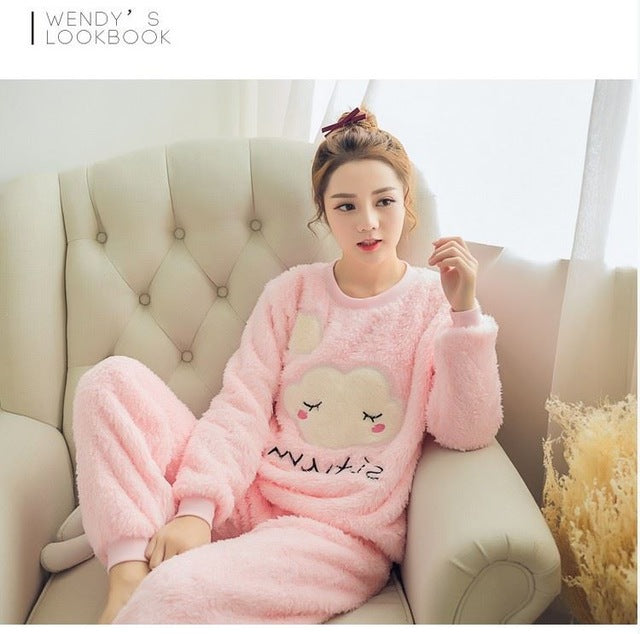 Pink Cloud Pajama - THE FASHION COCKTAIL