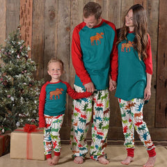 New Family Christmas Pajamas Set - THE FASHION COCKTAIL