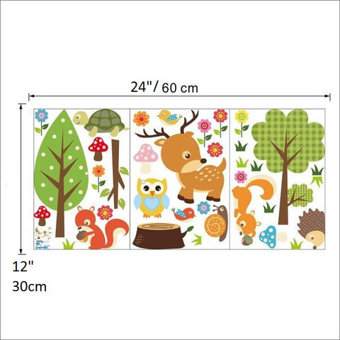Forest Animals Wall Decoration