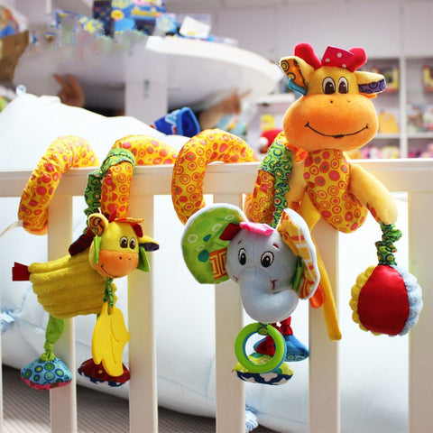 Giraffe & Friends Crib Toy