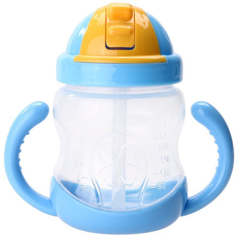 Feeding Bottle with Straw