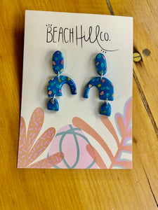 Beach Hill Co Blue Delight Earrings
