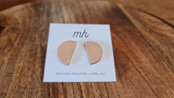 Melanie Hardy Simple Studs in various colours and shapes