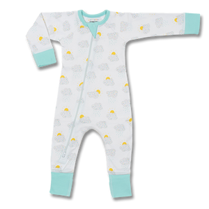 Sapling Child Happy Jammy Cloud Zip Romper
