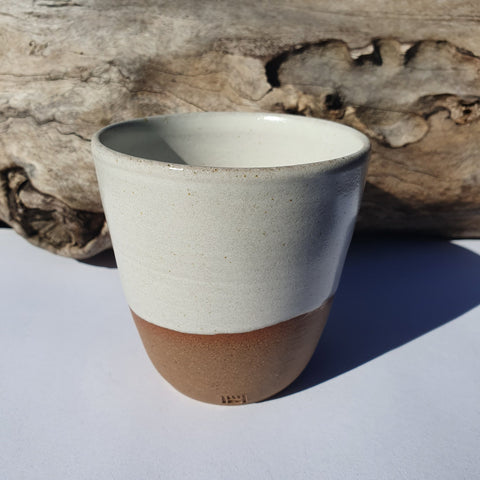 Woodside Ceramics White Tumbler