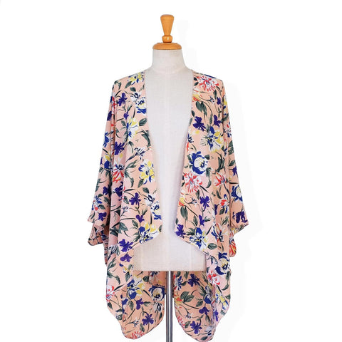 Roger and Peach Dimity Pink Kimono