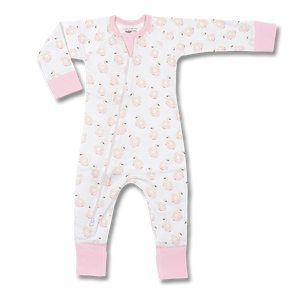 Sapling Child Happy Jammy Flamingo Zip Romper