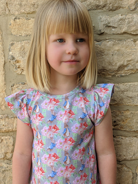 Peter Rabbit Flutter Dress