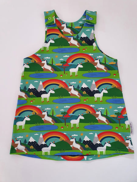 Organic Pinafore Dress