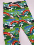 Organic Rainbow Unicorn Leggings