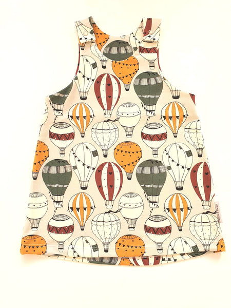 Organic Balloon Pinafore