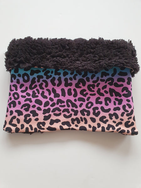 Rainbow Leopard Print Snood
