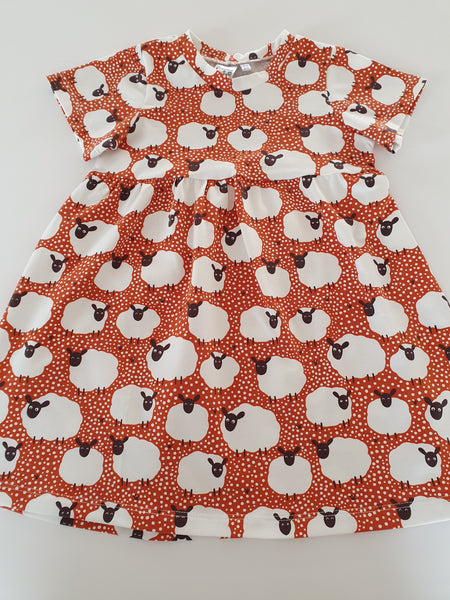 spotty sheep dress