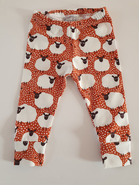 spotty sheep leggings