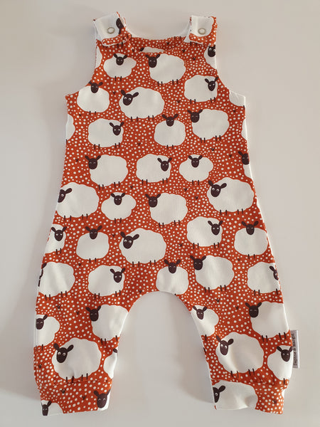 spotty sheep romper