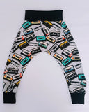 Cassette Tape Harem Leggings